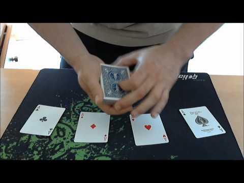 card trick magika kolpa aces jump kai ekshghsh