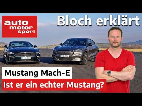 Ford Mustang Mach-E: Ist er ein echter Mustang (mit Drag Race gegen Bullitt V8) - Bloch erklärt #134