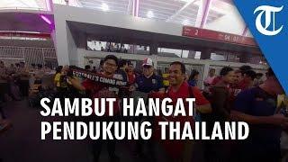 Timnas Kalah, Suporter Indonesia Tetap Sambut Hangat Pendukung Thailand