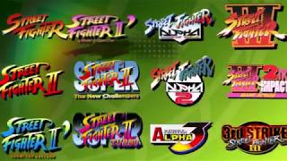 VideoImage1 Street Fighter 30th Anniversary Collection