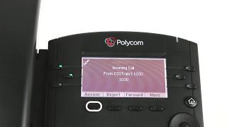 Polycom VVX 300 301 311   Call Waiting