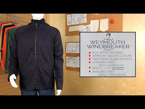 Weymouth Windbreaker Product Video K660T