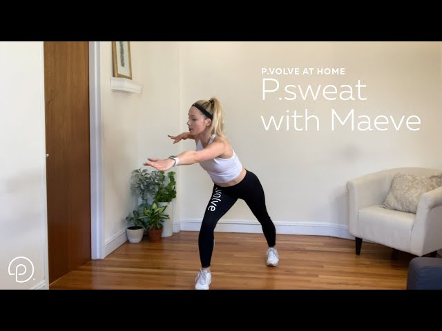 P.sweat with Maeve | At Home with our Trainers | P.volve