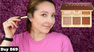 TOO FACED COCOA CONTOUR PALETTE TUTORIAL, SWATCHES & REVIEW