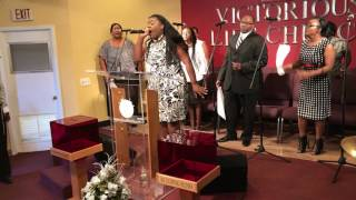 "Pentecost Sunday at Victorious Life Church, ""Whatever I Expect,"" by Bishop Larry Trotter"