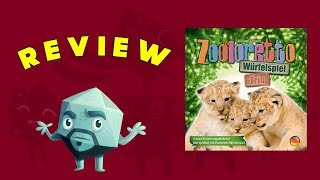 Zooloretto: The Dice Game + Trio Review - With Zee Garcia