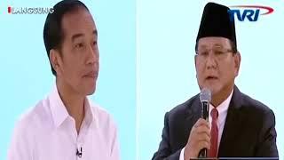 Jokowi SkakMat Prabowo Dalam Debat Kedua Capres