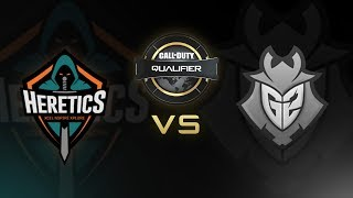 Team Heretics vs G2 Esports - CWL Pro League Qualifier - Día 4