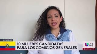 Somos Provida por convicción. Martha Cecilia Villafuerte, candidata a la vicepresidencia – Univisión.