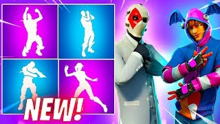*NEW* Fortnite Leaked Emotes..! (Vivacious, Hitchhiker, Battle Call, My Idol, Fist Pump)