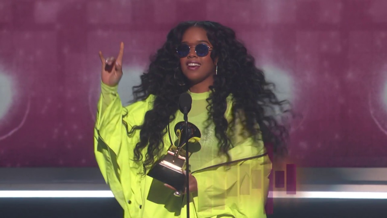 H.E.R. Wins Best R&B Album | 2019 GRAMMYs Acceptance Speech