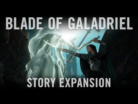Official Shadow of War Blade of Galadriel Story Expansion Trailer thumbnail