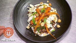 Salad Recipe Elimination Challenge In 30 Minutes!   MasterChef Australia   MasterChef World