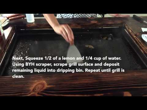 Backyard Hibachi Flattop Grill Overview