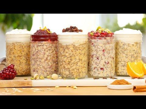 5 Festive Overnight Oatmeal Recipes
