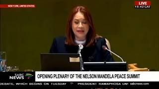UN SG Antonion Guterres statement at Nelson Mandela Peace summit | Kholo.pk