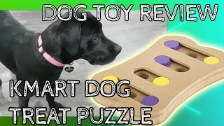 QUICK DOG TOY REVIEW - KMART DOG TREAT PUZZLE