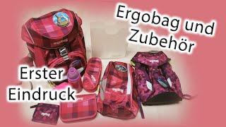 Schulranzen Ergobag pack & Zubehör | Unsere Erfahrung | Vorbereitung Einschulung | Schuleinführung