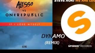 Alesso Ft Onerepublic Vs Dimitri Vegas & Like Mike Ft Steve Aoki -We Are Legend (DYNAMO Remix)