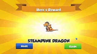 Clear Map Hero 121 - Dragon Mania Legends