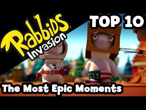Rabbids Invasion - The Most Epic Moments