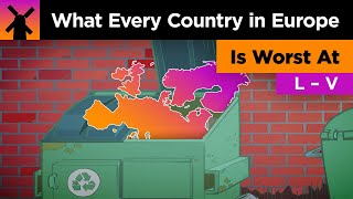 What Every Country In Europe is Worst At (Part 2) thumbnail