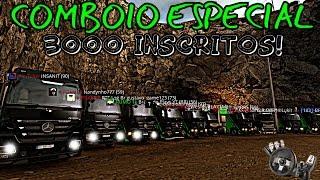 Euro Truck Simulator 2 - COMBOIO COM OS INSCRITOS -  ESPECIAL 3K - Logitech G27