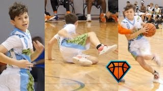 5'2 7th Grader Gets Crossed & Responds By Getting BUCKETS!!
