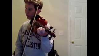 Jazz Violin Improvisation - D-minor Blues