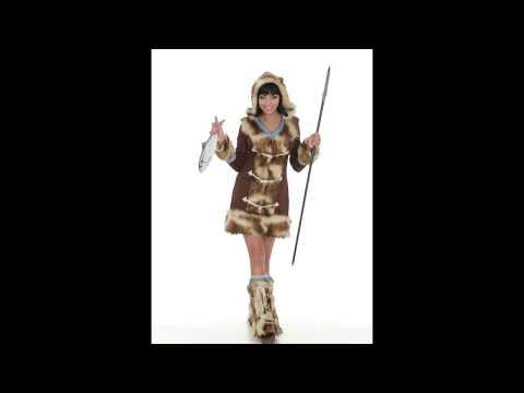 Disfraz de Esquimal para mujer.