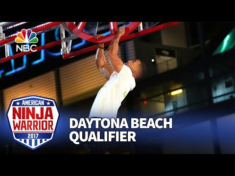 JJ Woods at the Daytona Beach Qualifiers - American Ninja Warrior 2017