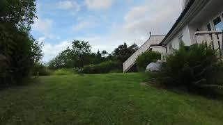 Having some fun in my garden flying FPV