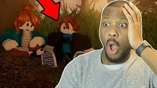 Reacting To The Last Guest 2 A Sad Roblox Movie Trailer