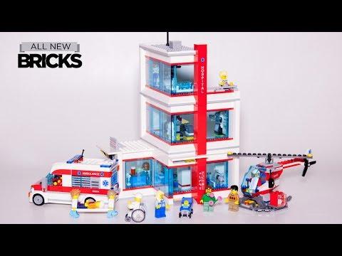 Vidéo LEGO City 60204 : L'hôpital LEGO City