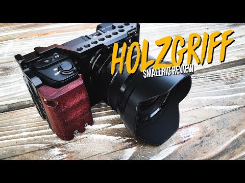 SmallRig HANDGRIFF Holz Sony A6000 Kamerakäfig 📸  FOTOGRAFIE VLOG DEUTSCH