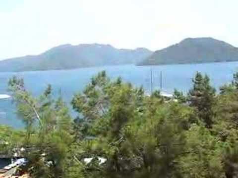 Video uitzicht vanuit Marmaris Palace***** (Marmaris, Turkije)