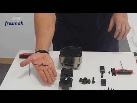 How to replace the seals of the base of a pneumatic BLOCK SC