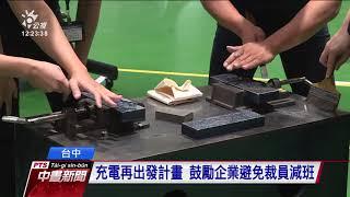 勞工充電再出發訓練 蔡總統再次視察 20200428 公視中晝新聞