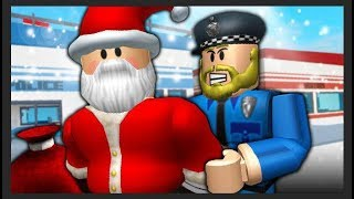 SANTA WAS ARRESTED?! ( A Roblox Jailbreak MOVIE)
