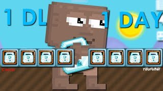 Getting 1 DL in 1 DAY! (How To Get Rich FAST 2018) - Growtopia