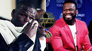 50 Cent: Floyd Mayweather Jr is Broke & That's Why he's Coming Back   Says He Can Stop TMT Apparel