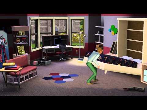 The Sims 3 University Life Key Origin GLOBAL - video trailer