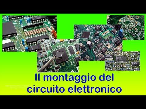 Il montaggio del circuito elettronico