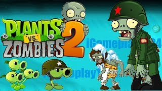 Plants vs Zombies 2 Wild West Day 19 20 Android iPad/iOS Gameplay HD