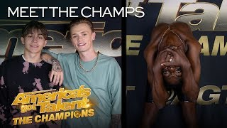 Bars and Melody and Strauss Serpent Are Going To SHOCK America - America's Got Talent: The Champions thumbnail
