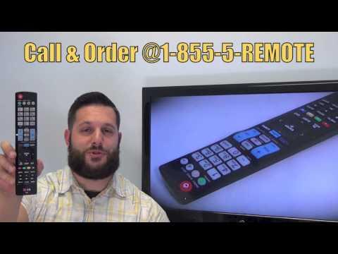 LG AKB74115501 TV Remote Control