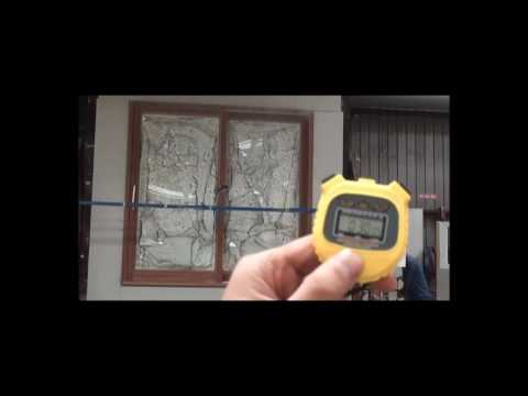 Testing Paarhammer BAL-FZ Bushfire Safe Products