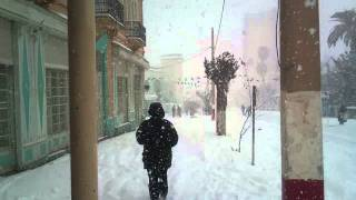 preview picture of video 'wilaya de saida sous la neige 05.02.2012 HD'