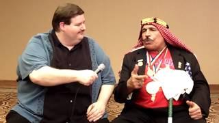 The Iron Sheik – Fan Wrestling Promo – January 30, 2011
