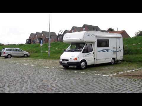 Video Motorhome camperplaats in Tholen, Zeeland, The Netherlands